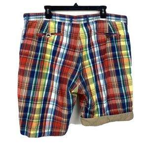Polo Ralph Lauren men's shorts 40 reversible plaid
